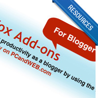 10 Essential Firefox Addons/Extensions For Bloggers