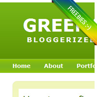 Free Blogger Template : Greenary