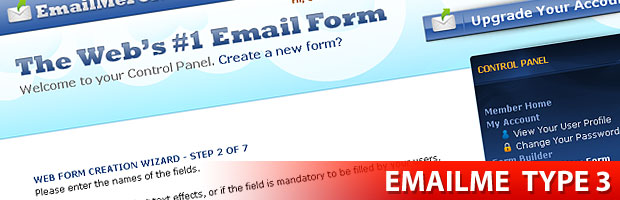 EmailMe Form Builder