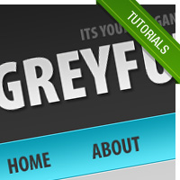 How To Design A Grey-Blue Blog Design In Photoshop – GreyFuture