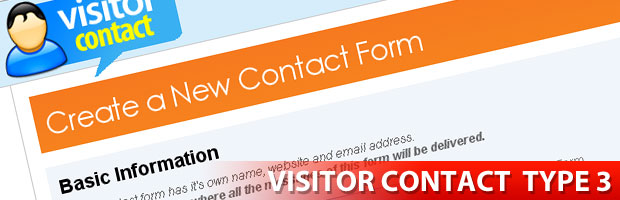 Visitor Contact Contact Form